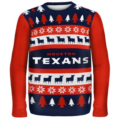 Houston Texans Ugly Christmas Sweaters