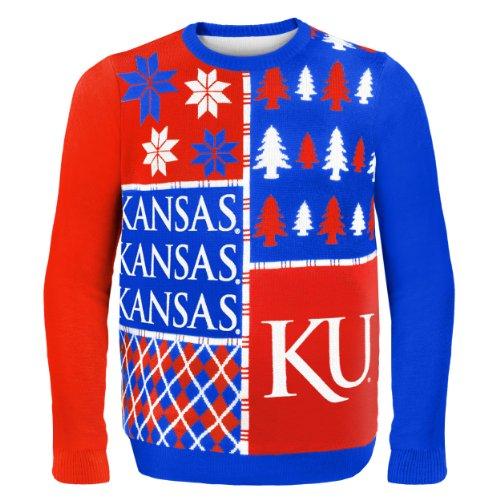 Kansas Jayhawks Ugly Christmas Sweaters
