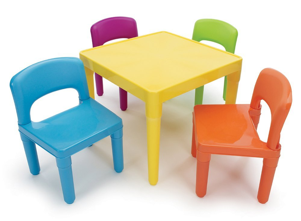 Kids table and chairs christmas gifts for everyone for Kid sized furniture