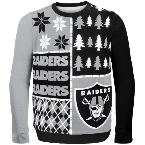 Oakland Raiders Ugly Christmas Sweaters
