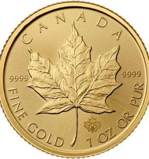 2016 Canadian Maple Leaf Gold Coins