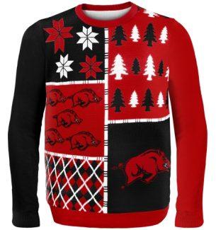 Arkansas Razorbacks Ugly Christmas Sweater
