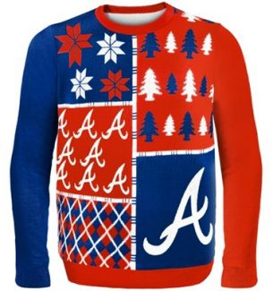 Atlanta Braves Ugly Christmas Sweater