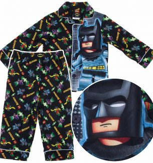Batman Pajamas for Toddler Boys