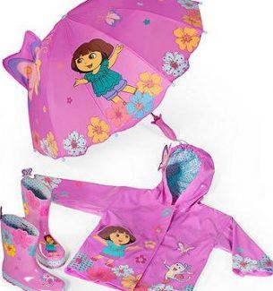 Dora the Explorer Rain Gear