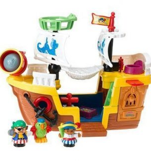 Fisher-Price Lil Pirate Ship