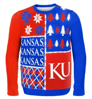 Kansas Jayhawks Ugly Christmas Sweaters