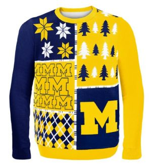 Michigan Wolverines Ugly Christmas Sweaters