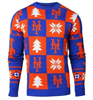 New York Mets Ugly Christmas Sweaters