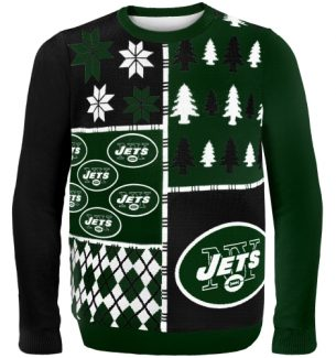 New York Jets Ugly Christmas Sweaters