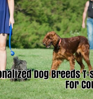Personalized Dog Breeds T-shirts for Couples