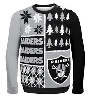 Las Vegas Raiders Ugly Christmas Sweaters