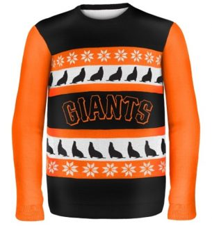 San Francisco Giants Ugly Christmas Sweaters