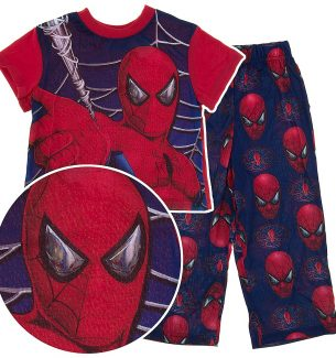 Spiderman Pajamas for Toddler Boys