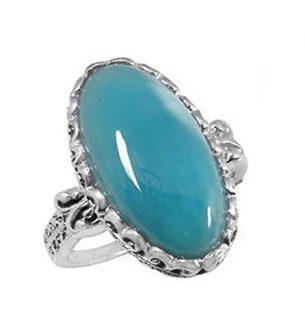 Rare Blue Larimar Stone Jewelry