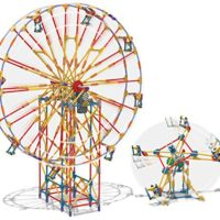 K'NEX Model Sets Roller Coasters and Ferris Wheels